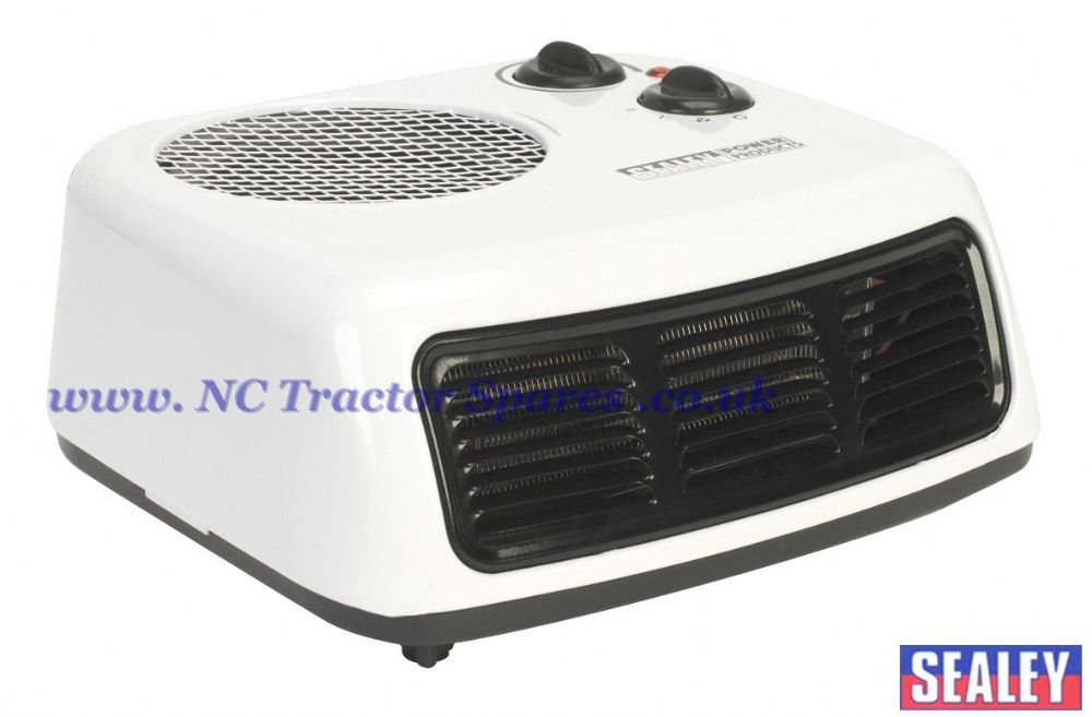 Fan Heater 2000W 2 Heat Settings with Thermostat